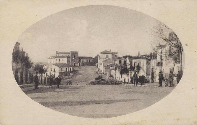 Serracapriola a inizi Novecento