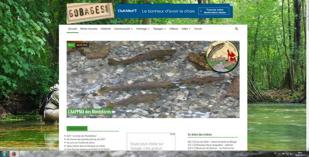 Article dédié à notre AAPPMA sur le site Internet www.gobages.com (Cliquez sur l'image pour lire l'article)