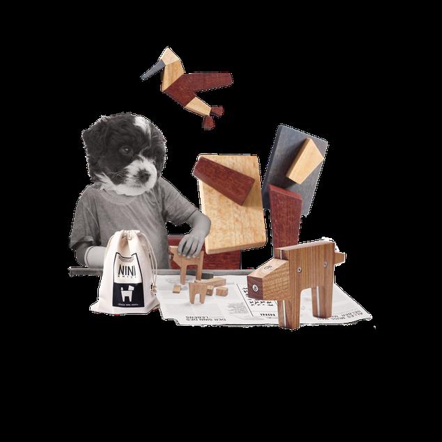 Natürliche Holzspielzeuge mit viel Phantasie für Kinder und Erwachsene