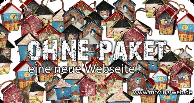 Umzug Ihrer Webseite in ein neues Design und Layout: www.moving-web.de