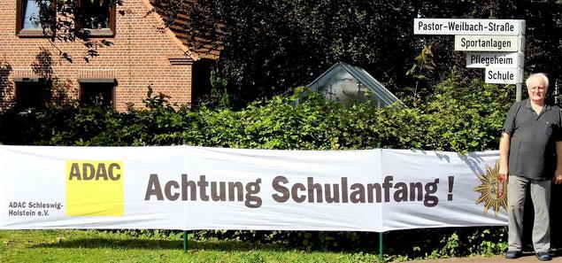 Wolfgang Martens hofft auf Rücksicht der Verkehrsteilnehmer.