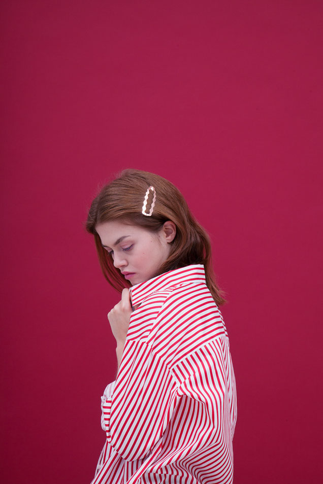 CLINQ Edition #02: DIONE; contemporary hair jewelry; hair clips; barrettes