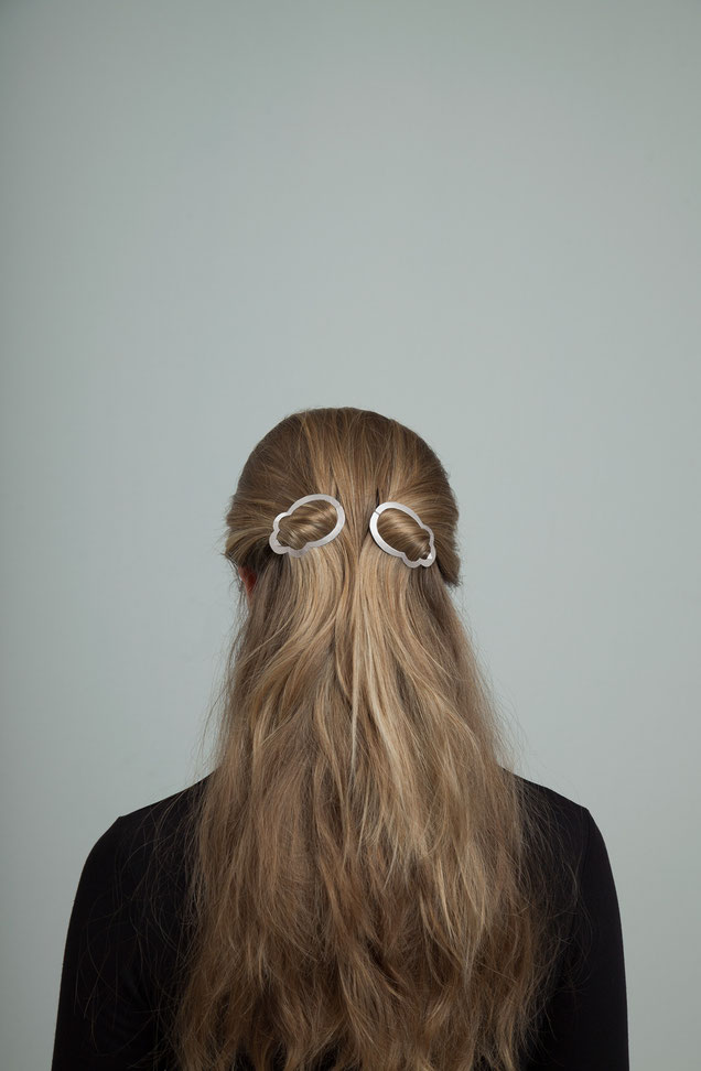 CLINQ Edition #05: LOUISE; contemporary hair jewelry; hair clips; barrettes