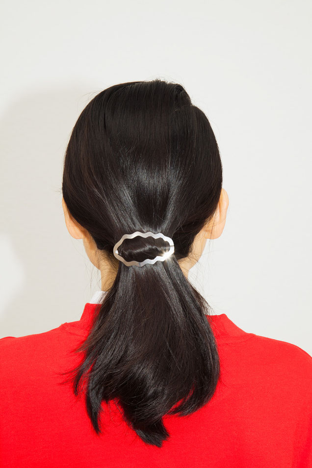 CLINQ Edition #02: HELIA; contemporary hair jewelry; hair clips; barrettes