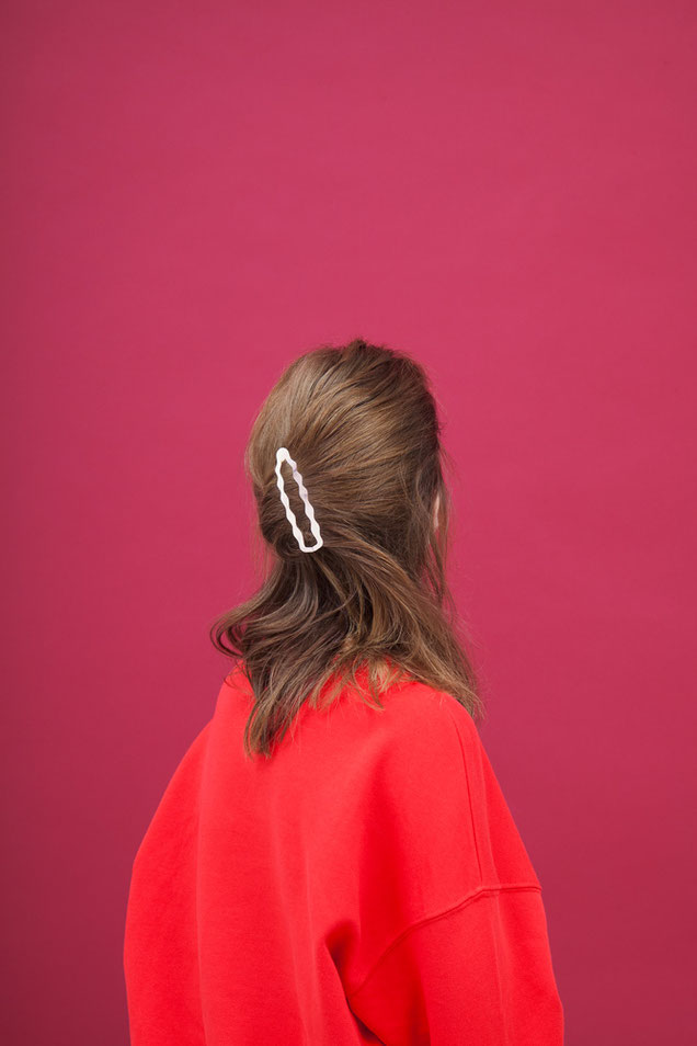 CLINQ Edition #03: FRANCES; contemporary hair jewelry; hair clips; barrettes