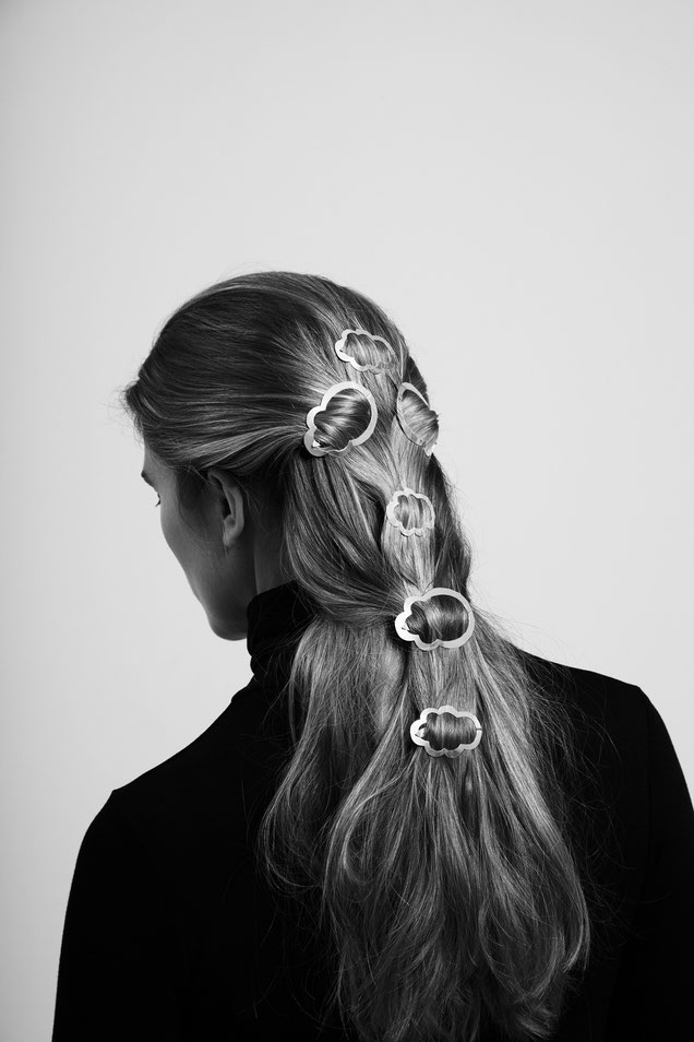 CLINQ Edition #05: CAMILLE; contemporary hair jewelry; hair clips; barrettes