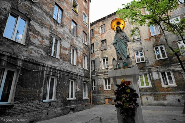 Warszawa. Praga-Północ (Fot. Adam Stępień / Agencja Gazeta)