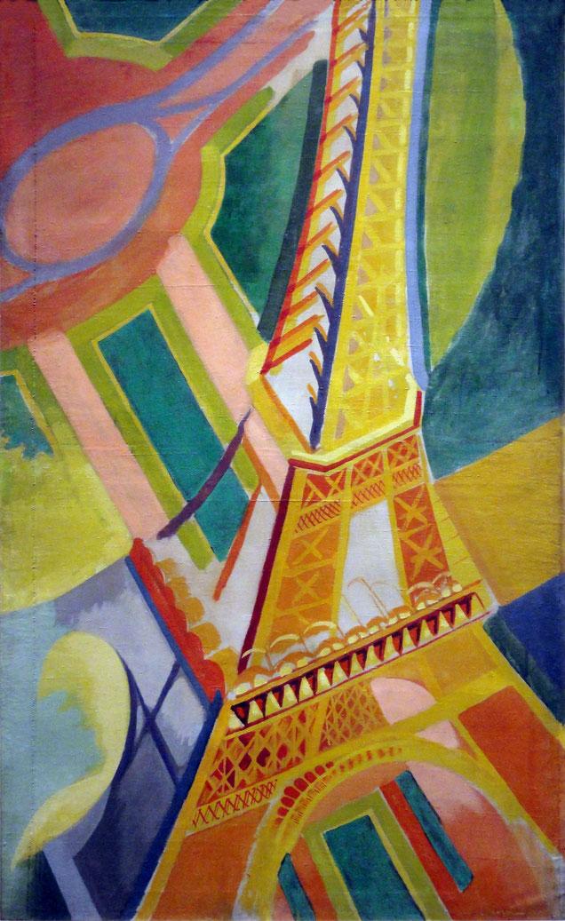 ロベール・ドローネー「エッフェル塔」(1926年)