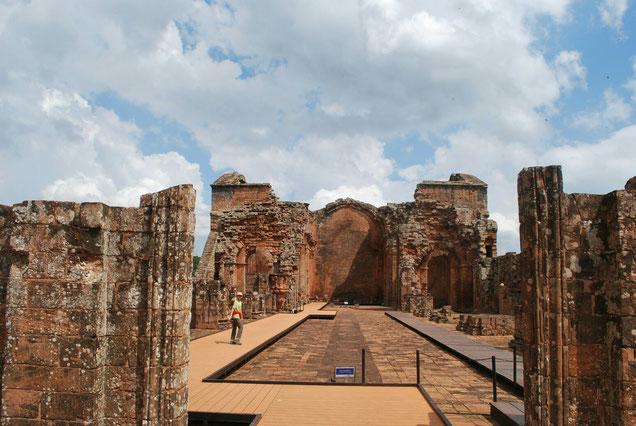 Ruines de l'église de Trinidad