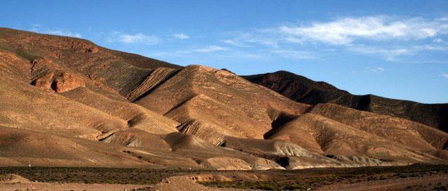 circuit de Ouarzazate vers le désert