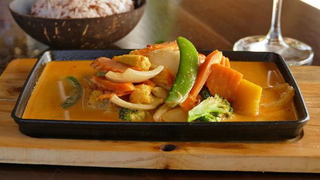 Leckeres Gemüsecurry ist leicht gemacht.