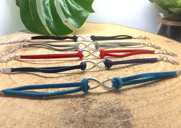 Les bracelets infinis, symbole de l'amour spirituel Manoléo Fantaisies Article blog confidences