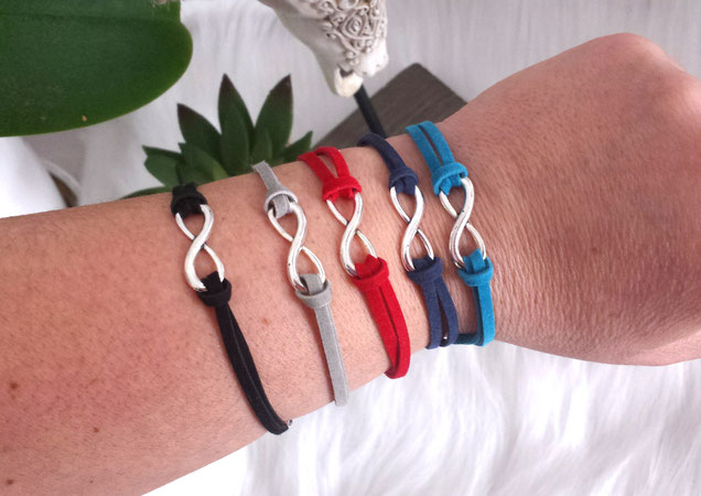 Les bracelets infinis portés, symbole de l'amour spirituel Manoléo Fantaisies Article blog confidences
