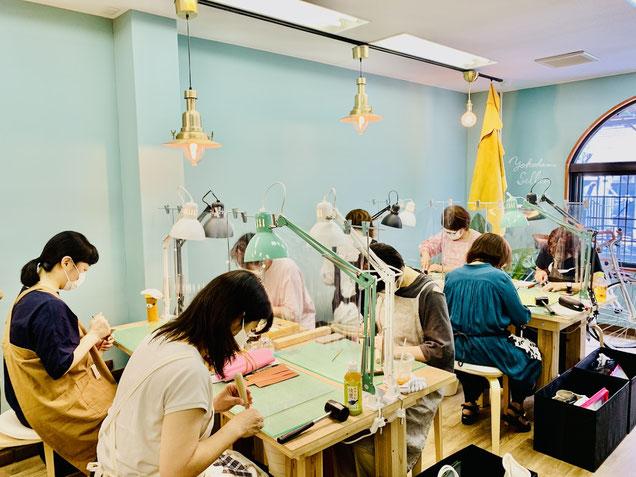 レザークラフト教室ヨコハマセリエの大阪教室