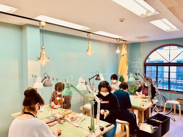 大阪のレザークラフト(革)教室ヨコハマセリエの生徒さん