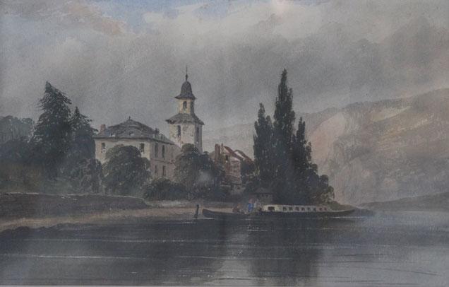 Karl Lang Archiv, Büsingen, Thomas Burton Watkin Forster, TBWF Aquarell watercolor