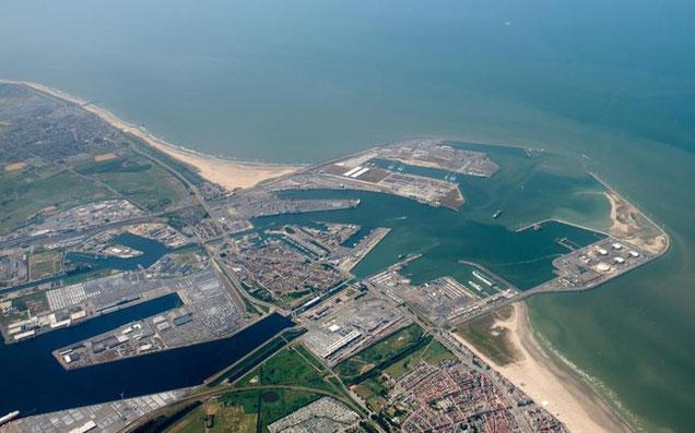 Pictured here is the Port of Zeebrugge – credit: Port of Zeebrugge