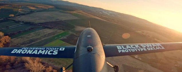 Dronamics expects to be admitted an AOC for the Black Swan drones before the end of this year,