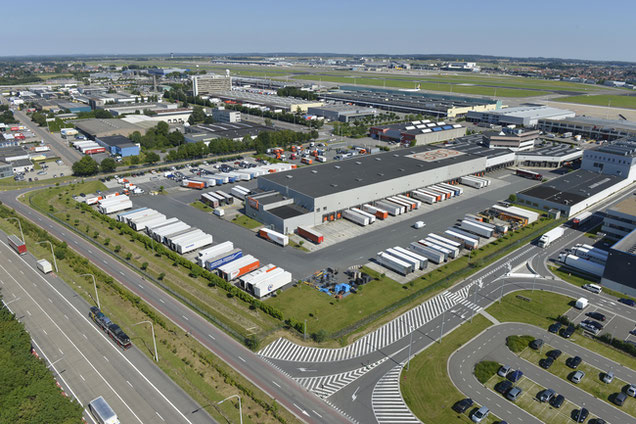 Brussels Airport has grown its cargo area successively, strongly supported by ACB  -  company courtesy