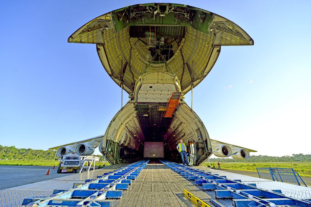 Loading of AN-225 in Bolivia  -  picture: Antonov