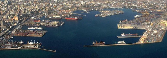 Hapag-Lloyd is growing its presence in West Africa by establishing an office in Dakar. The Senegaslese capital's harbor is pictured here   -  courtesy: port authority