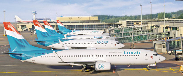 Luxembourg-based Luxair Cargo was a CHAMP customer for some services but CHAMP lost the tender for handling systems to Hermes in October 2016 – photo: Luxair