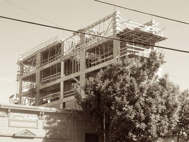 Baustelle Ausland