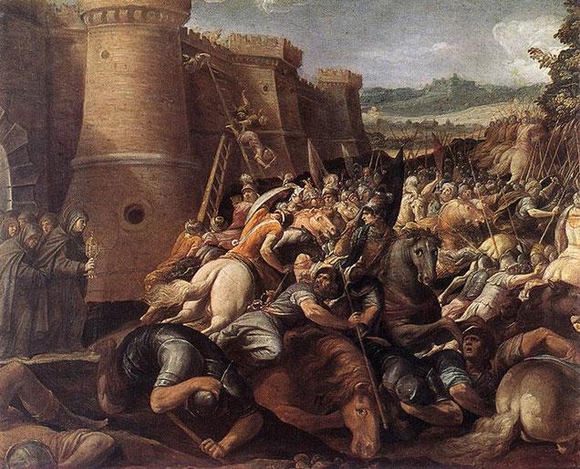 S. ChiaRA ferma assedio Assisi