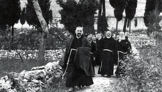 Padre Pio e padre Paolino da Casacalenda