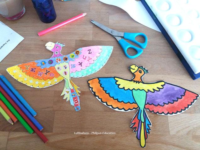 projet artistique Der bunte Papagei (allemand au cycle 2)