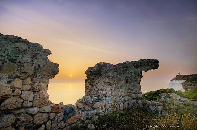 475 Griekenland Kythira kerkje bij Agia Pelagia