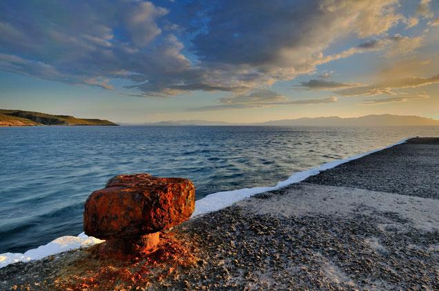 468 Griekenland Kythira haven Agia Pelagia