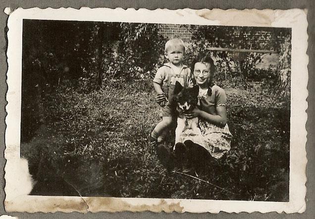 Ein weiteres Foto von Grete Cohn aus ihrer Zeit in Bergkirchen.