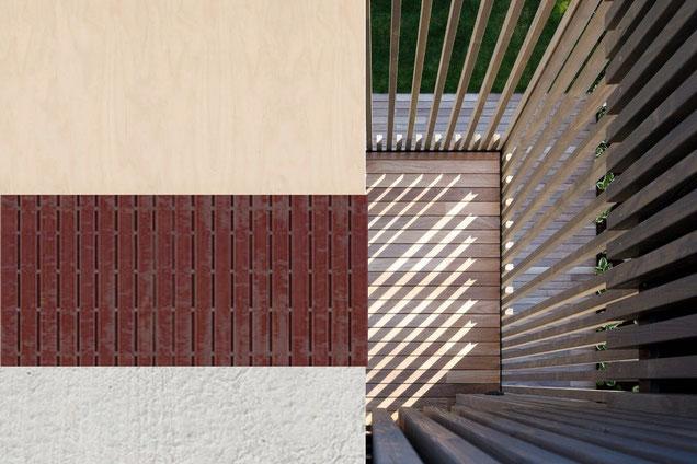 Neubau Wohnhaus in Hallau I Material- und Farbkonzept