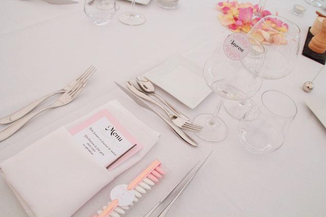 Hochzeitstafel ganz klassisch