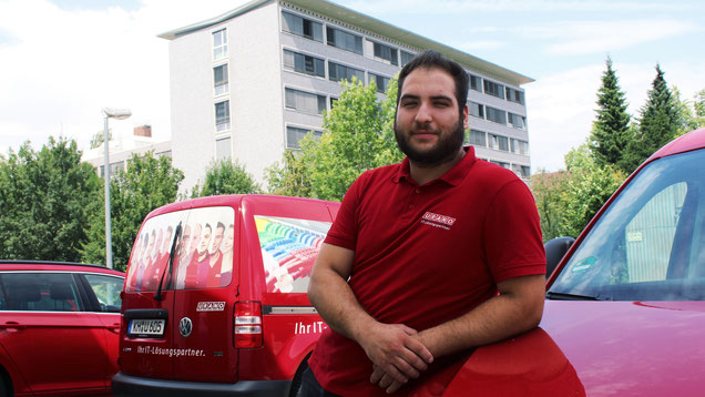 URANO-Servicetechniker Selahattin Yilmaz aus dem Biberacher IMAC/R-Team