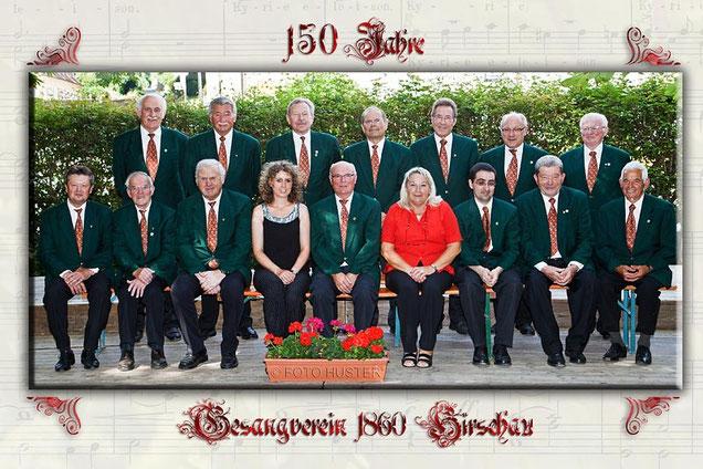 Aktive Mitglieder des Männerchores (Stand: Juli 2010)