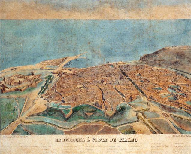 Барселона - великое наводнение 1862
