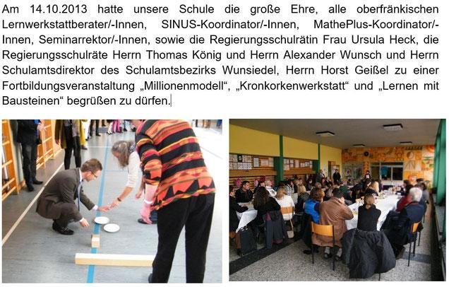 Lernwerstätten Oberfranken, GS Röslau