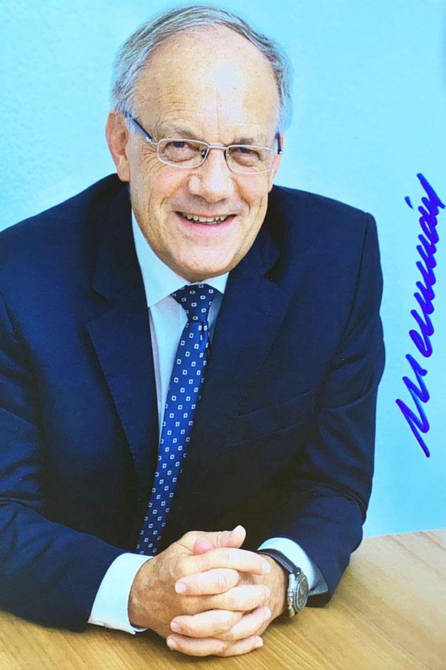 Autograph Johann Schneider-Ammann Autogramm