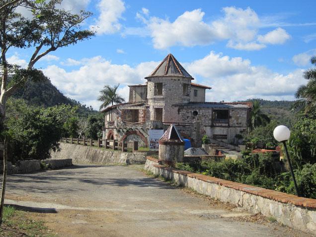 Das verlassende Restaurant in Soroa