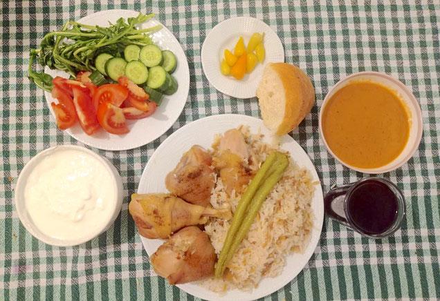 Essen in der Türkei Hausmannskost