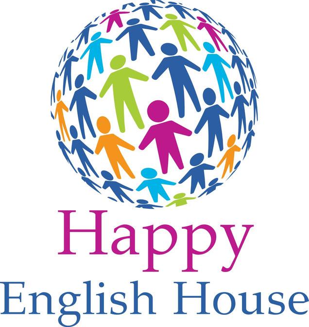 函館 英語の幼稚園&英会話のハッピーイングリッシュハウスのロゴ