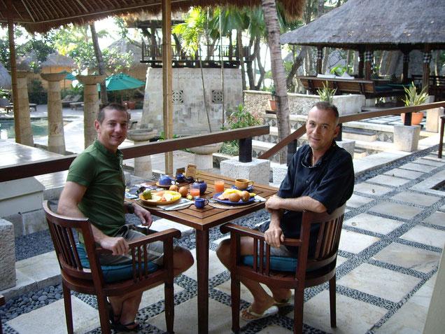 petit déjeuner de vos hôtes des terrasses sur mer