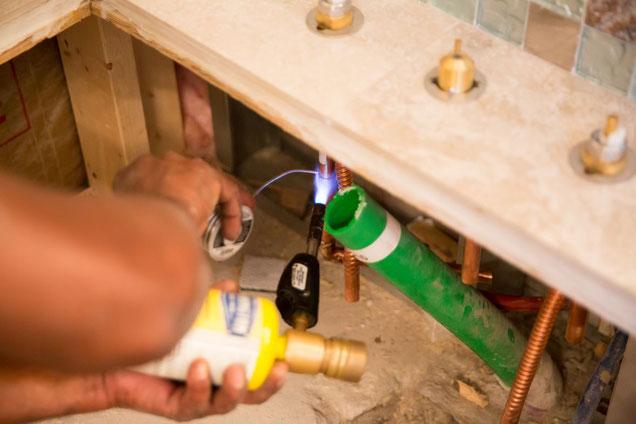 Plan your plumbing