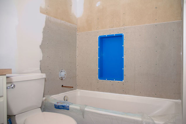 Preparation for tiling