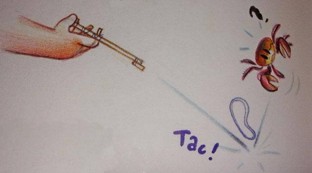 Un dessin qui tombe à pic !    © Florent Chavouet (Manabe Shima)