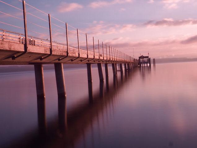 ...Morgenstimmung am Bodensee