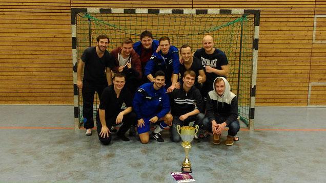 Sieger des 2. FirstGo - Hallencups - der TSV Reichenberg/Boxdorf