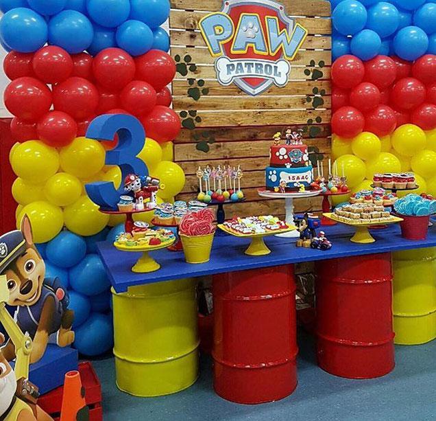 mesa de dulces fiesta de niño